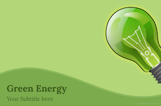 Green Energy Keynote Template 1 320x210 - Green Energy