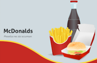 McDonalds Keynote Template 320x210 - McDonalds