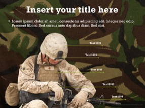 Military Keynote Template 5 - Military