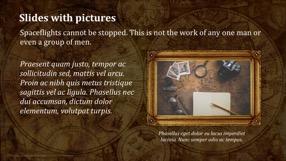 Antique World Keynote Template 4 - Antique World