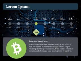 Bitcoin Keynote Template 5 - Bitcoin
