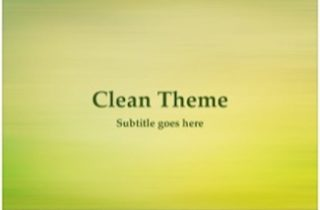 Clean Keynote Template 320x210 - Clean