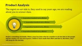 Golden Keynote Template 10 - Golden Yellow