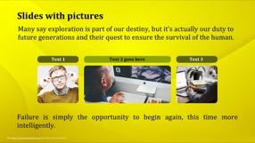 Golden Keynote Template 2 - Golden Yellow