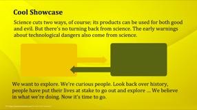 Golden Keynote Template 4 - Golden Yellow