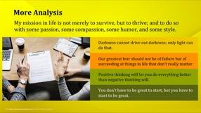Golden Keynote Template 9 - Golden Yellow