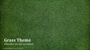 Grass Keynote Template 1 - Grass