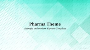 Pharma Keynote Template 1 - Pharma
