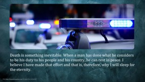 Police Keynote Template 8 - Police