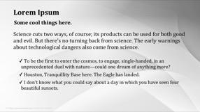 Simplistic Keynote Template 3 - Simplistic