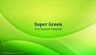 Super Green Keynote Template 320x183 - Super Green