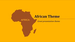 Africa Keynote Template 1 - Africa
