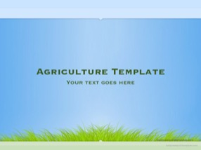 Agriculture Keynote Template 1 - Agriculture