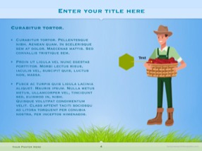 Agriculture Keynote Template 4 - Agriculture