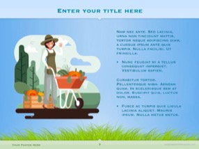 Agriculture Keynote Template 7 - Agriculture