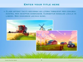 Agriculture Keynote Template 9 - Agriculture