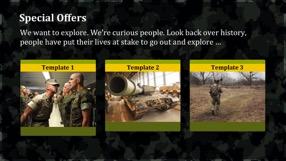 Army Keynote Template 4 - Army