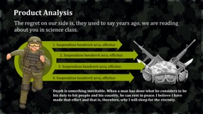 Army Keynote Template 8 - Army
