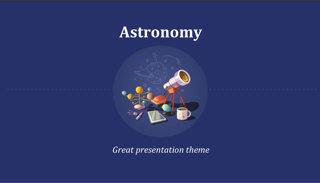 Astronomy Keynote Template