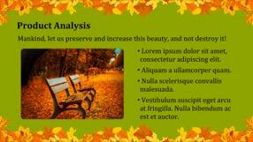 Autumn Leaves Keynote Template 2 - Autumn