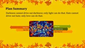 Autumn Leaves Keynote Template 4 - Autumn