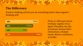 Autumn Leaves Keynote Template 5 - Autumn