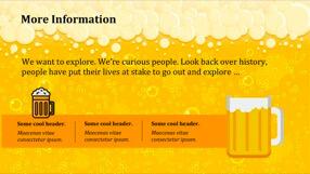 Beer Keynote Template 5 - Beer