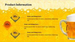 Beer Keynote Template 8 - Beer