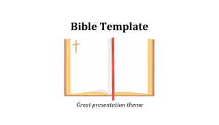 Bible Keynote Template