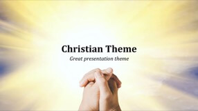 Christian Keynote Template 1 - Christian