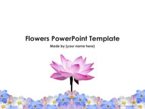 Flowers Keynote Template 1 - Flowers