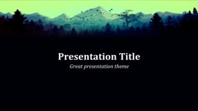 Forest Keynote Template 1 - Forest