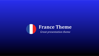 France Keynote Template