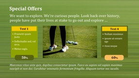 Golf Keynote Template 6 - Golf