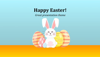 Happy Easter Keynote Template