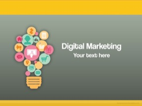 Marketing Keynote Template 1 - Digital Marketing