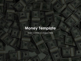 Money Keynote Template 1 - Money