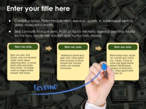 Money Keynote Template 6 - Money