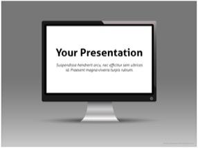 Monitor Keynote Template 1 - Monitor