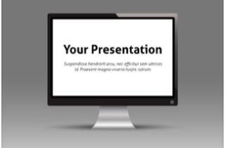 Monitor Keynote Template