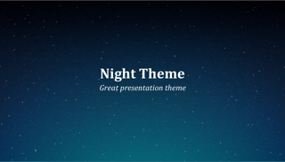 Night Keynote Template