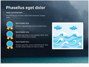 Ocean Keynote Template 6 - Ocean