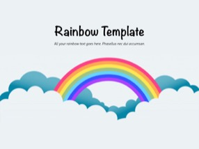Rainbow Keynote Template 1 - Rainbow