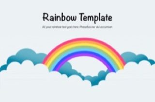 Rainbow Keynote Template