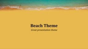 Summer Keynote Template 1 - Summer Beach