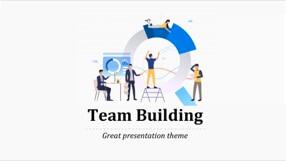 Team Keynote Template 1 - Team Building