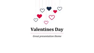 Valentine Keynote Template